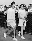1950 ALTHEA GIBSON & BARBARA KNAPP FOREST HILLS PHOTO Largest Sizes
