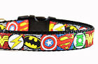 Hero Dog Collar, Australian Made,  Nylon Dog Collar