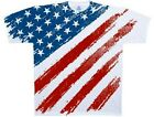 Star Spangled Banner USA Flag Americana High Quality t shirt