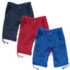 Mens Cargo Shorts Brave Soul New Pure Cotton Casual Summer Combat Style Pants