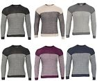 Men's ex chain 100% Acrylic Stretch Knit Crew Neckline Full sleeve Jumper