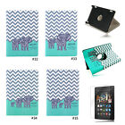 Family 360° PU Stand Flip Case Cover For Amazon Kindle Fire HD 7 2014 4th Gen