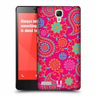 HEAD CASE DESIGNS PSYCHEDELIC PAISLEY HARD BACK CASE FOR XIAOMI REDMI NOTE