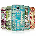 HEAD CASE BIRTH MONTH SILICONE GEL CASE FOR SAMSUNG GALAXY S4 MINI DUOS I9192