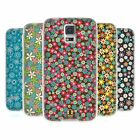 HEAD CASE DITSY FLORAL PATTERNS SILICONE GEL CASE FOR SAMSUNG GALAXY S5