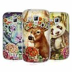 HEAD CASE FLORAL ANIMALS SILICONE GEL CASE FOR SAMSUNG GALAXY S DUOS S7562