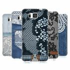 HEAD CASE JEANS AND LACES SILICONE GEL CASE FOR SAMSUNG GALAXY ALPHA G850