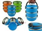Round 0.7L Stackable Insulated Stainless Steel Lunch Box Bento