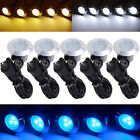 5pcs LED Garden Deck Lights Low Voltage Waterproof In/Outdoor Holiday Lighting
