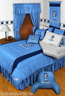North Carolina Tar Heels Comforter Sham Valance Twin to King Sizes