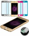 Titanium Alloy Full Coverage Colorful Tempered Glass Screen Protector For iphone