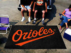 Baltimore Orioles Area or Tailgate Rugs 3 Sizes