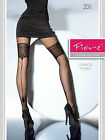 Fiore Liberta 20 Denier Hold Up Effect Tights + back seam Art Deco type Pattern
