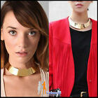 C8 Lady Womens Nacklace New Fashion Punk  Mental Gold/Silver Dress Collars