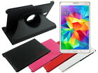 Swivel Leather Folding Case for Samsung Galaxy Tab S 8.4