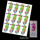 Transparency #70 SEAHORSE 70mm RAINBOW GREEN UN-CUT 2 4, 8 suncatcher CRAFT film