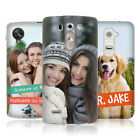 CREATE YOUR OWN PERSONALISED CUSTOM MADE PRINTED SILICONE GEL CASE FOR LG PHONES