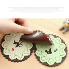 C8 NEW Coasters Cushion Cup Drinks Holder Novelty Silicone Lovely cheap Placemat