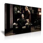 Godfather Movie Canvas Wall Art Home Office Deco 9 sizes