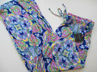 New Cynthia Rowley womens pajama bottoms Lounge Pants multi color XL L M