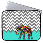"""Elephant Laptop Ultrabook Sleeve Case Bag For 11-15.6"""" MacBook Pro Air Acer Dell"""