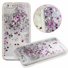 S*ACT 3D Glitter Quicksand Music Note Liquid  crystal Case apple iphone 5 6 plus