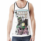 Mens Vest Chunk Star Wars Original Iconic Retro 1982 Comic Cover Print Tank Top