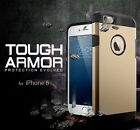 Slim Tough Armor Hybrid Dual Layer Bumper Hard Case Cover For Apple iPhone 6