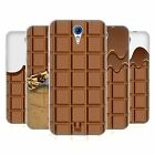 HEAD CASE CHOCOLATY SILICONE GEL CASE FOR HTC DESIRE 620
