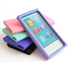 For Apple iPod Nano 7 7th 7G Color Rubberized Hard Case Snap On Cover Accessory