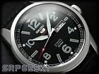 SEIKO 5 Sports SRP625K1 Automatic Handwinding Army Nylon Black New in Box 4R36