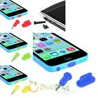 Anti Dust Dock Cover Earphone Jack Plug Cap For iPhone 5 5S iPad Air Samsung HTC