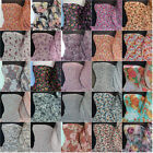 Premium Quality Floral print soft touch chiffon sheer fabric material