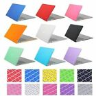 """Matte Crystal Plastic Case Keyboard Cover For Macbook Air Pro Retina 11"""" 12"""" 13"""""""