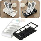 TV DVD Step Remote Control Phone Holder Stand Storage Organiser Tool Excellent