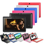 "A33 7"" Android 4.4 Quad Core 4GB Capacitive Touch Screen Tablet PC w/Keyboard"