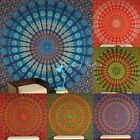 LARGE SELECTION of QUEEN Hippie Mandala Indian Tapestry Elephant Bedspread Hangi