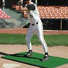 Baseball Batter's Mat Hitting Turf 4'x6' or 3'x7' Indoor Outdoor