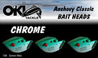 O'Ki ACL INVENTORY of Bait Head Rolling Teasers Salmon Fishing Lures 3 per pack