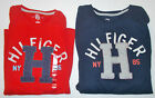 Tommy Hilfiger Mens TShirts Red Dark Blue NY 85 Sizes Med, Lg and XXLg NWT