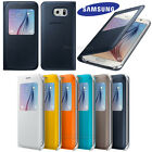 Genuine Samsung S-View Leather Flip Case Cover for Samsung Galaxy S6