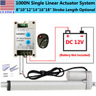 220lbs DC12V Electric Linear Actuator &Brackets &Wireless Remote Controller Kits