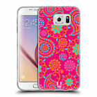 HEAD CASE PSYCHEDELIC PAISLEY SILICONE GEL CASE FOR SAMSUNG GALAXY S6 G920