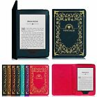 For Amazon Kindle (7th Gen 2014 Model) Lightweight Vintage PU Leather Case Cover