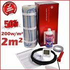 Electric Underfloor Undertile Heating Kit 200w 2m2 Thermopads FREE Delivery