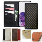Leather Wallet Lock Flip Slim Case Cover for SAMSUNG Galaxy S / APPLE iPhone /LG
