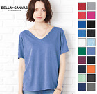 B8815 Bella+Canvas Womens Flowy Simple V-Neck Short Sleeve 8815-20 COLORS-NEW!