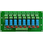 8 DPDT Signal Relay Module Board,5/12/24VDC Version,for PIC Arduino 8051 AVR MCU
