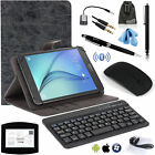 EEEKit Wireless Bluetooth Keyboard Mouse+PU Leather Case Cover for 8 inch Tablet