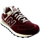 Mens New Balance Vintage 574 Sports Gym Running Low Top Suede Trainers UK 7-12